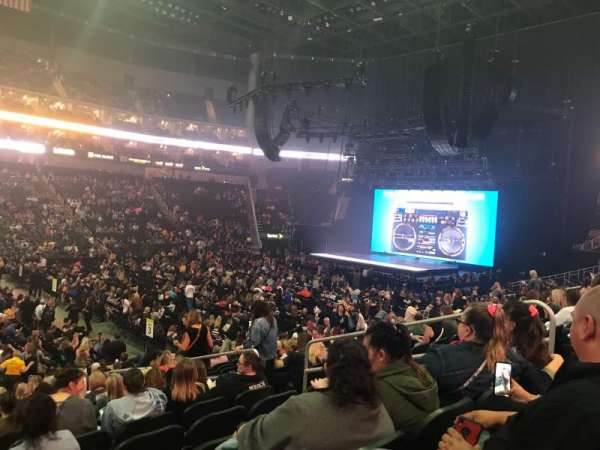 T-Mobile Center, section: 118, row: 17, seat: 4,5