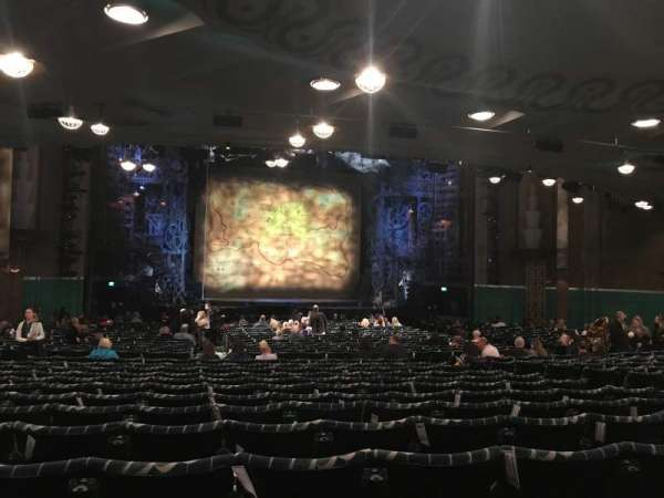 Apollo Victoria Theatre, section: Stalls, row: ZE, seat: 32