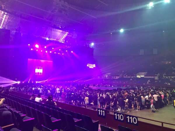 Fort Worth Convention Center, section: 110, row: F, seat: 6