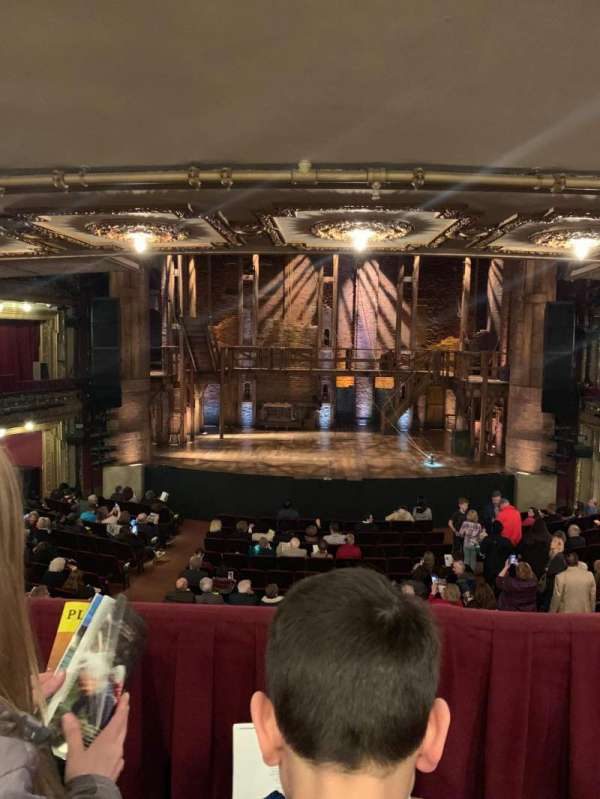 CIBC Theatre, section: Dress circle c, row: B, seat: 205