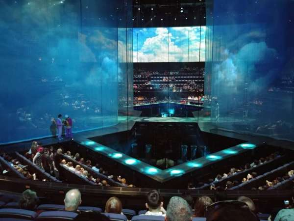 Love Theatre - The Mirage, section: 209, row: S, seat: 34