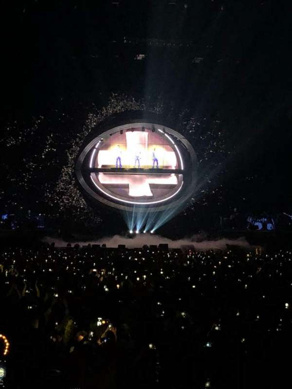 The O2 Arena, section: 106, row: C, seat: 175