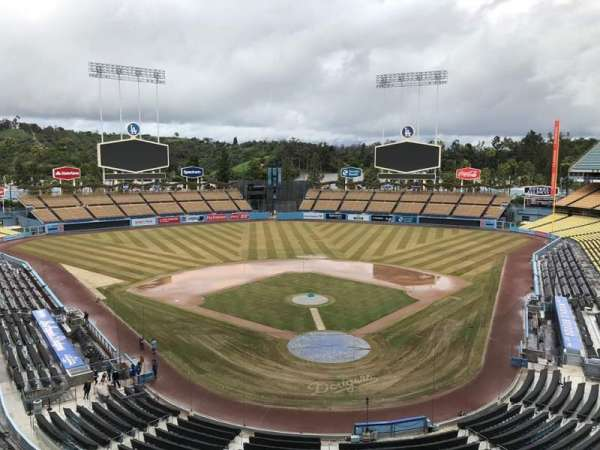 Dodger Stadium, section: 3RS, row: C, seat: 8