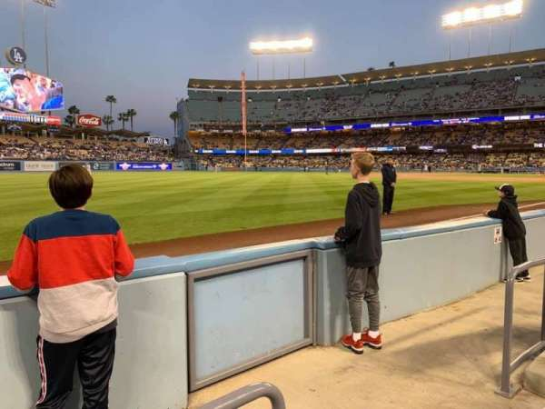 Dodger Stadium, section: 45FD, row: BB, seat: 13