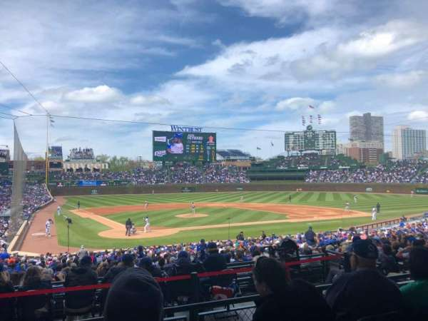 Wrigley Field, section: 220, row: 4, seat: 14