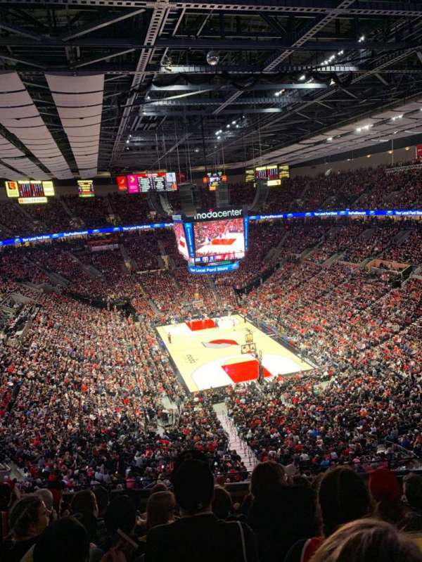 Moda Center, section: 311, row: G, seat: 6