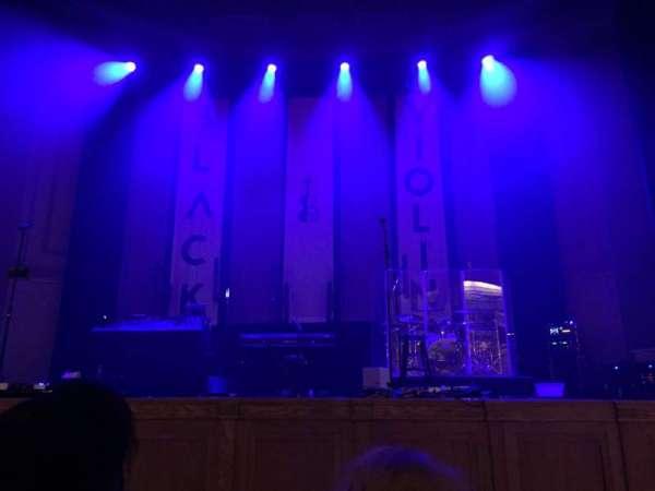 War Memorial Auditorium, section: 3, row: B, seat: 4