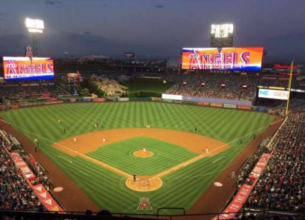 Angel Stadium, section: V520, row: A, seat: 6