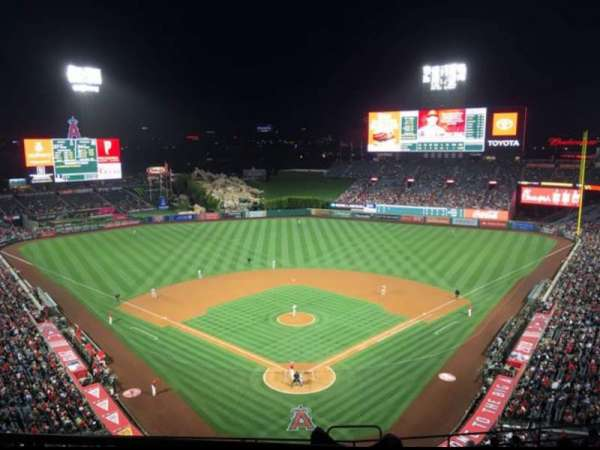 Angel Stadium, section: V520, row: A, seat: 7