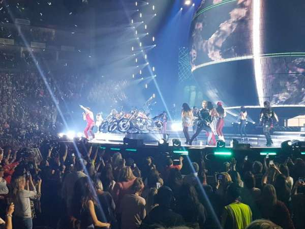 The O2 Arena, section: 112, row: C, seat: 376