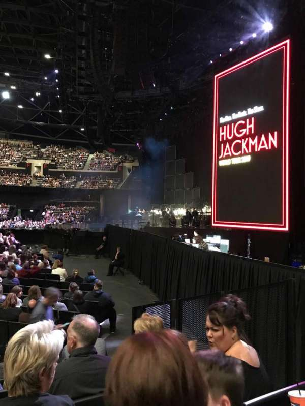 The SSE Hydro, section: 058, row: F, seat: 16