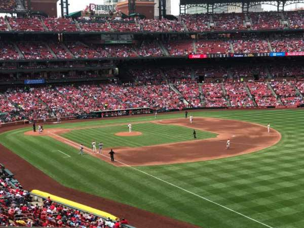 Busch Stadium, section: 233, row: 1, seat: 2