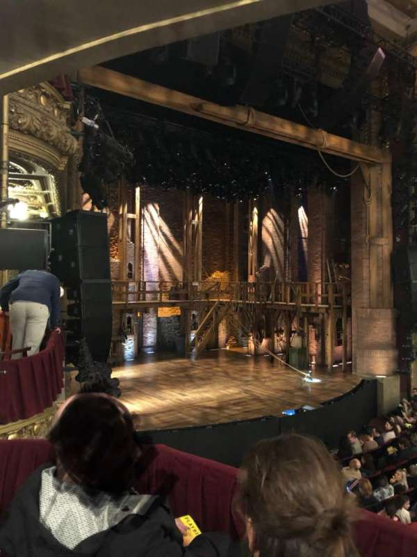 CIBC Theatre, section: Dress Circle Box 1, row: Box 1, seat: 213