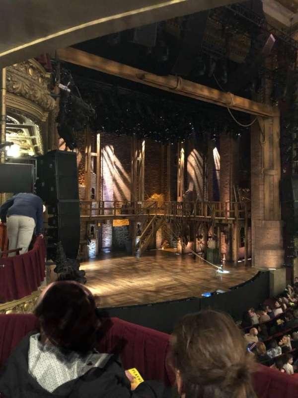 CIBC Theatre, section: DCRBX1, row: Box 1, seat: 213