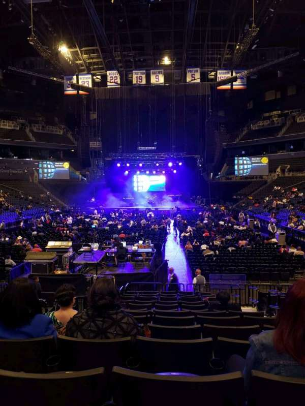 Barclays Center, section: 17, row: 13, seat: 3
