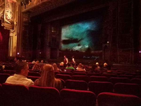 Hollywood Pantages Theatre, section: Orchestra RC, row: L, seat: 211