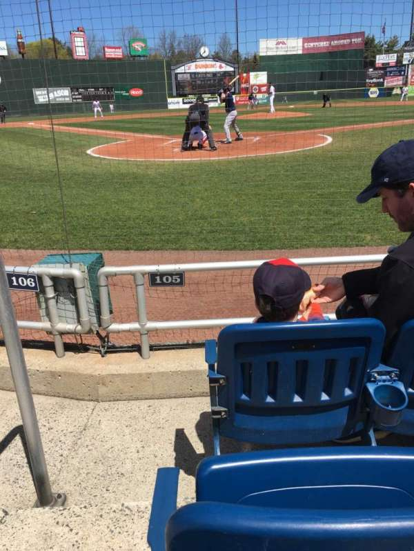 Hadlock Field, section: 105, row: C, seat: 9