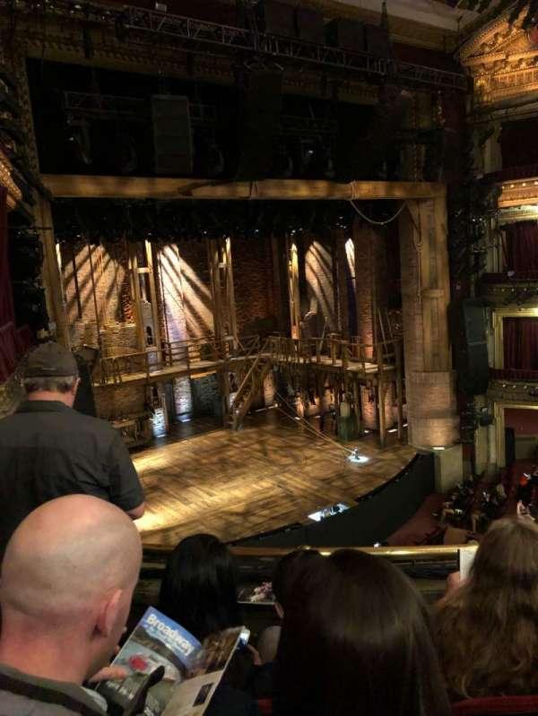 CIBC Theatre, section: Mezzanine L, row: C, seat: 11