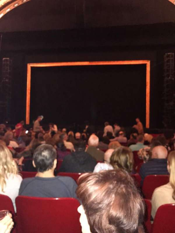 Cadillac Palace Theater, section: Orchestra C, row: O, seat: 116