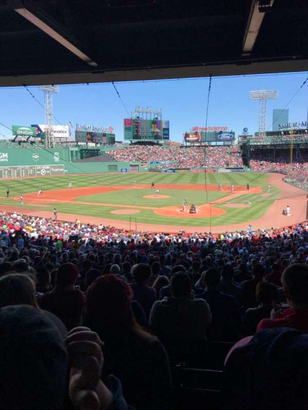 Fenway Park, section: Grandstand 22, row: 10, seat: 15