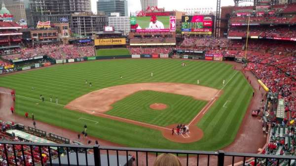Busch Stadium, section: 352, row: 3, seat: 10