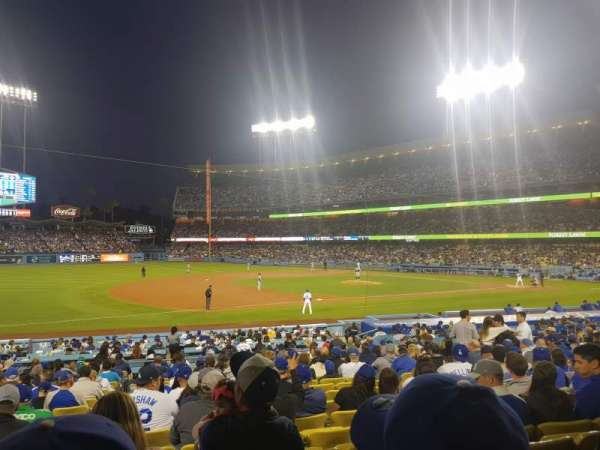 Dodger Stadium, section: 29FD, row: T, seat: 5