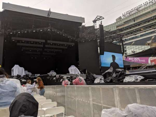Soldier Field, section: A4, row: 21, seat: 2