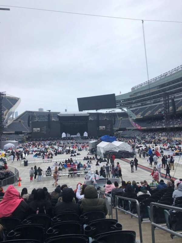 Soldier Field, section: 124, row: 14, seat: 17