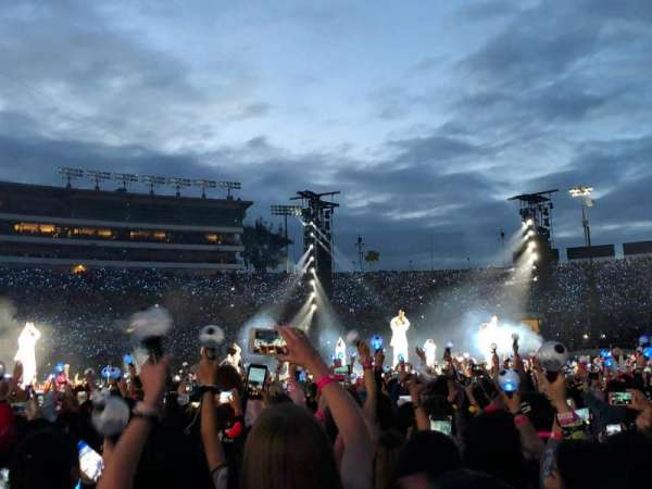 Rose Bowl, section: A5, row: 19, seat: 22