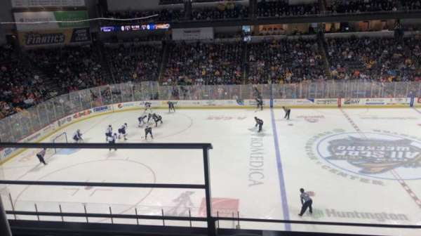 Huntington Center, section: 207, row: B, seat: 17
