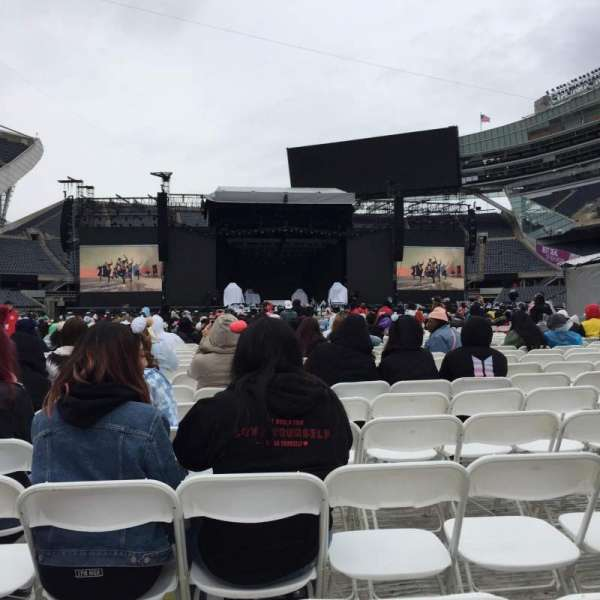 Soldier Field, section: C3, row: 21, seat: 18