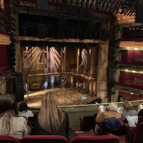 CIBC Theatre, section: Front Mezz, row: F, seat: 5
