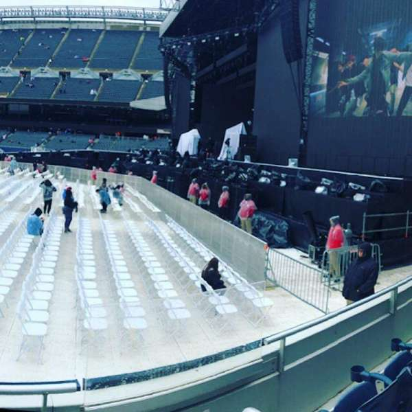Soldier Field, section: 104, row: 4, seat: 17