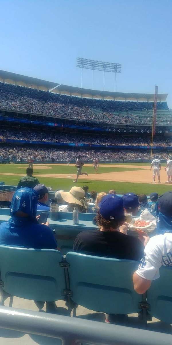 Dodger Stadium, section: 26FD, row: A, seat: 7,8