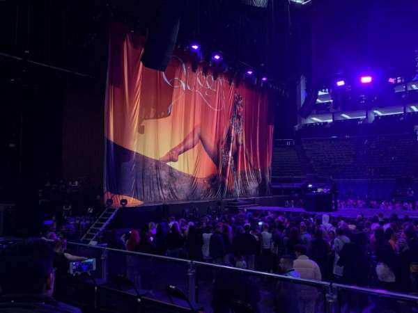 The O2 Arena, section: 101, row: F, seat: 38