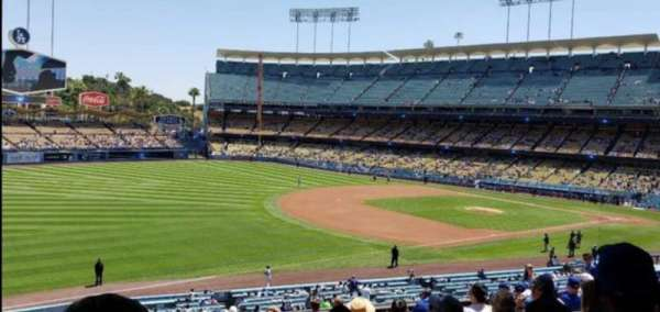 Dodger Stadium, section: 153LG, row: P, seat: 2