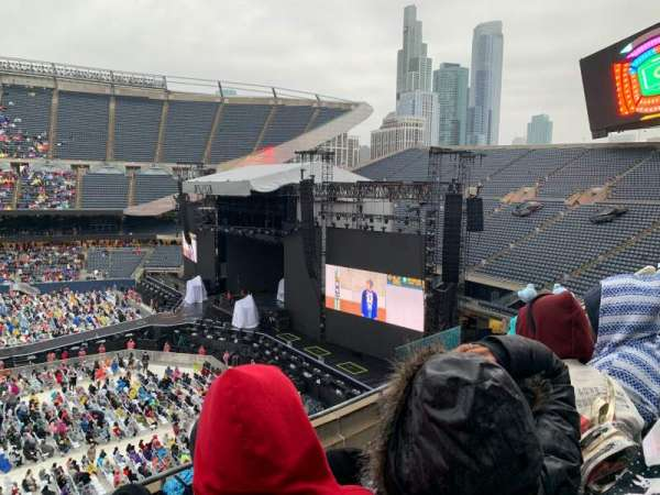 Soldier Field, section: 306, row: 4, seat: 10