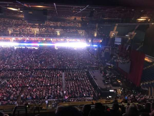 BOK Center, section: 314, row: Q, seat: 27