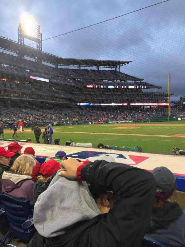 Citizens Bank Park, section: 116, row: 4, seat: 4