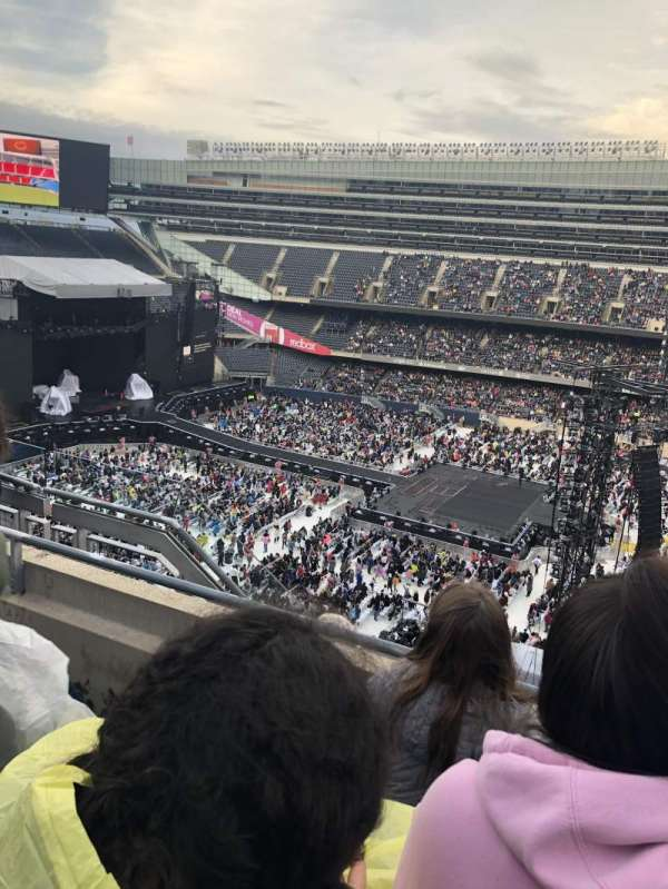 Soldier Field, section: 436, row: 3, seat: 6