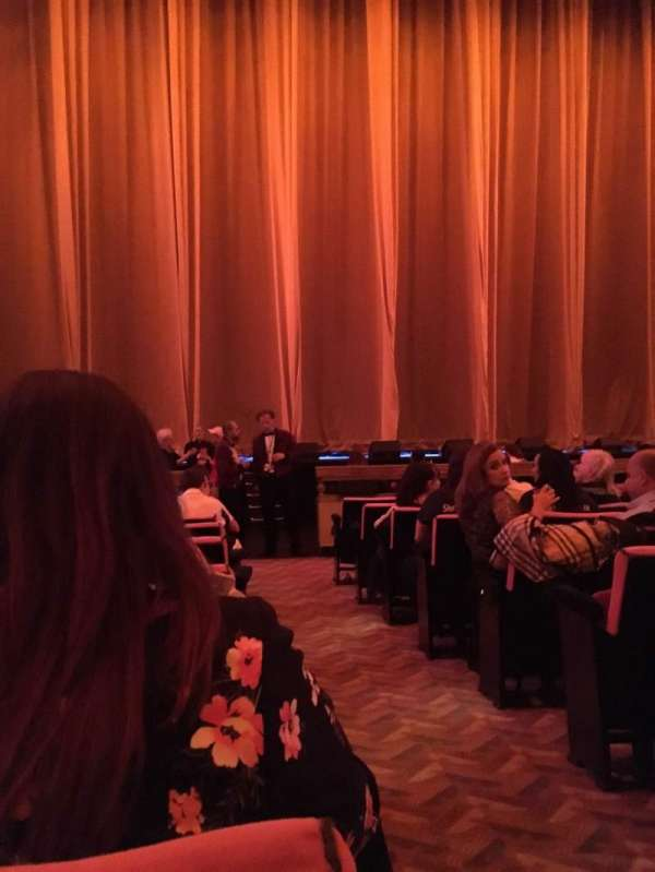 Radio City Music Hall, section: Orchestra 5, row: KK, seat: 501