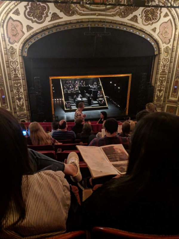 Cadillac Palace Theater, section: Balcony LC, row: K, seat: 303