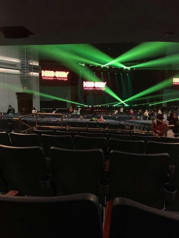 Rosemont Theatre, section: 111, row: FF
