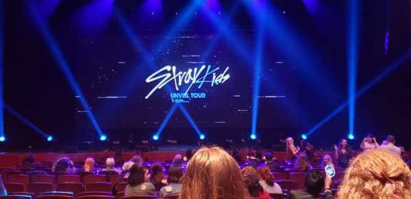 Prudential Hall at the New Jersey Performing Arts Center, section: ORCH C, row: K, seat: 110