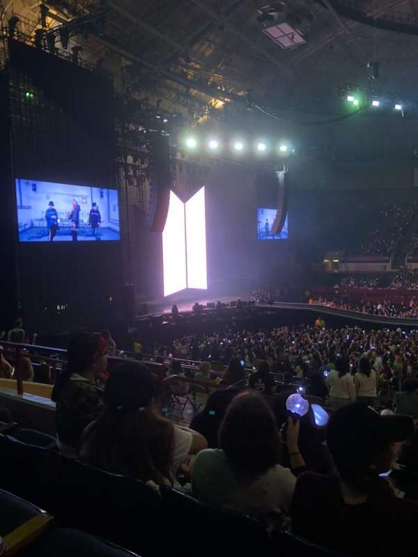 Fort Worth Convention Center, section: 317, row: F, seat: 6