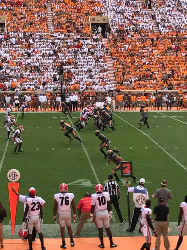 Neyland Stadium, section: C, row: 17, seat: 21