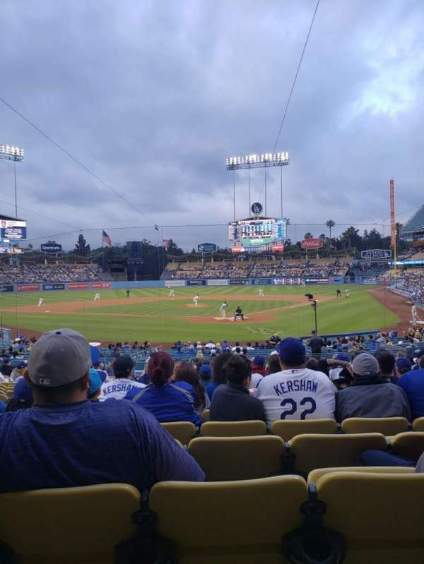 Dodger Stadium, section: 3FD, row: T, seat: 9