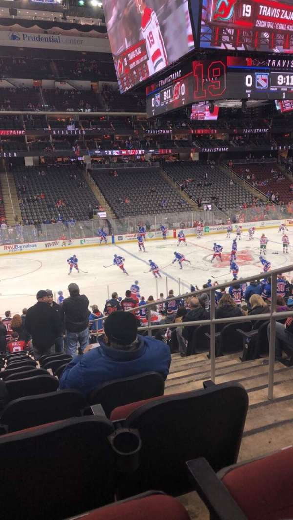 Prudential Center, section: 6, row: 29, seat: 2