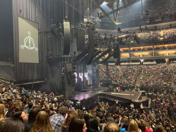 Golden 1 Center, section: 120, row: N, seat: 8