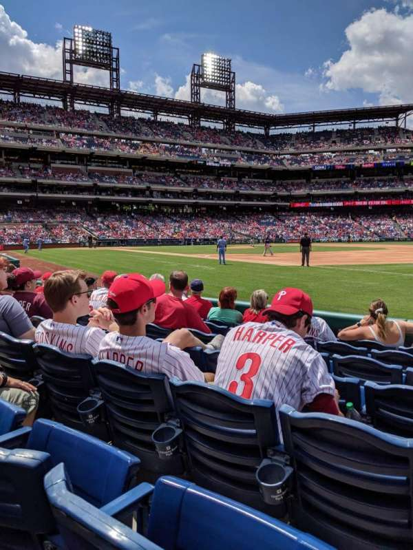 Citizens Bank park, section: 112, row: 7, seat: 10